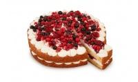 Cake yogur y frutas del bosque