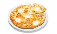 Pizza Fina 4 Quesos con Nueces