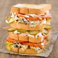 Club Sandwich sin gluten