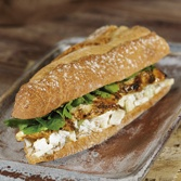 Chicken and Waldorf salad Sandwich