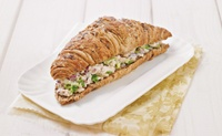 Vegetarian Caprice Multicereal Paris Croissant